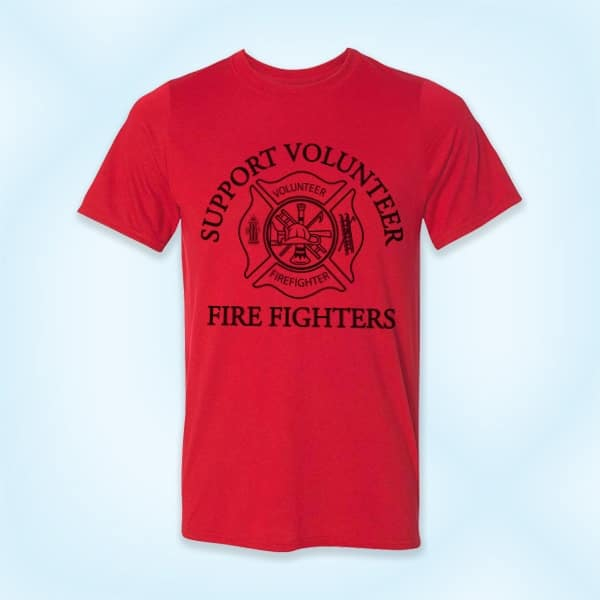 "30a01643 Support Volunteer Firefighters"" T-Shirt – JADoherty"
