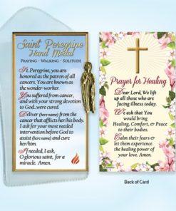 Saint, St Peregrine, Prayer, Prayer Card, Catholic, English