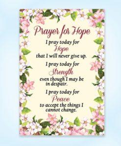 Prayer, Hope, Catholic, Magnet