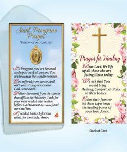 Saint, St Peregrine, Prayer, Prayer Card, Catholic, English, Patron Saint